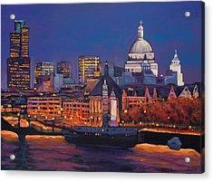 London Calling. Acrylic Print