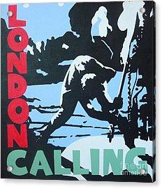 London Calling Acrylic Print by ID Goodall