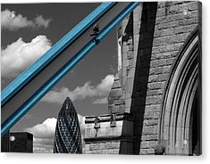 London City Frame Acrylic Print