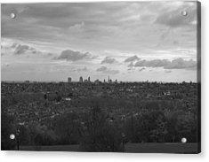 Acrylic Print featuring the photograph London City by Maj Seda