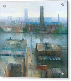 London Cityscape Acrylic Print