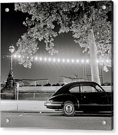 Porsche In London Acrylic Print