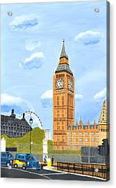 London England Big Ben  Acrylic Print