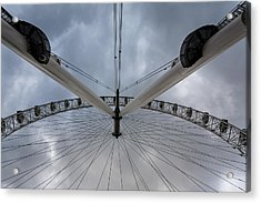 London Eye Detail Acrylic Print