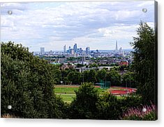 London From Parliament Hill Acrylic Print by Nicky Jameson