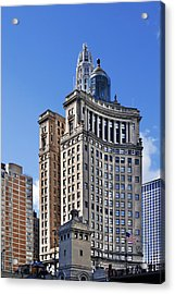 London Guarantee And Accident Building Chicago Acrylic Print by Christine Till