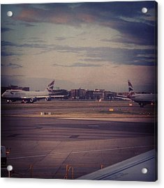 #london #heathrow #britishairways Acrylic Print