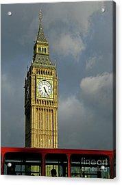 London Icons Acrylic Print by Ann Horn