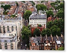 London Kensington Rooftops Acrylic Print by Nicky Jameson