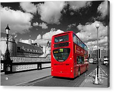 London Life Acrylic Print by Pete Reynolds