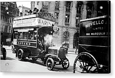 London Motor Bus Acrylic Print by Library Of Congress