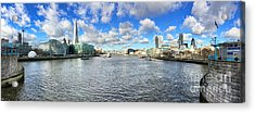 London Panorama Acrylic Print by Colin and Linda McKie