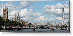 London Panorama Acrylic Print