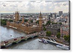 London Parliament Acrylic Print