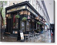 London Pub Acrylic Print by Thomas Marchessault
