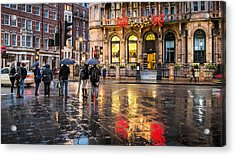 Reflections Of London Acrylic Print