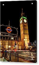 London Scene 2 Acrylic Print