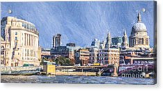 London Skyline Acrylic Print