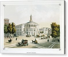 London Stock Exchange 19th C Acrylic Print by Everett