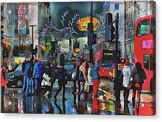 London Streets 3 Acrylic Print
