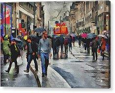 London Streets 4 Acrylic Print