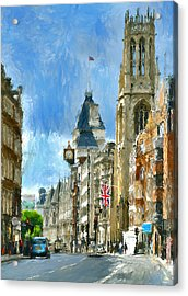 London Sunday View Acrylic Print