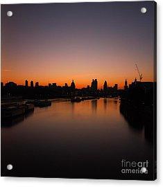 London Sunrise 2 Acrylic Print