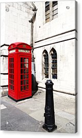 London Telephone Box Acrylic Print