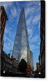 London The Shard Acrylic Print by Steven Richman