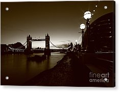 London Tower Bridge  Acrylic Print by Mariusz Czajkowski
