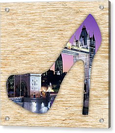 London Tower Bridge Acrylic Print by Marvin Blaine