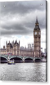 London Town Acrylic Print by Fizzy Image