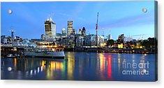London View Acrylic Print by Mariusz Czajkowski