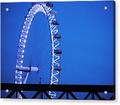 London's Eye At Dusk Acrylic Print
