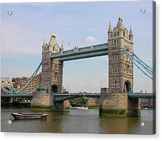 London's Tower Bridge Acrylic Print