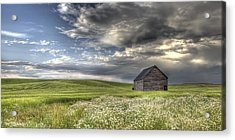 Lone Barn  Acrylic Print