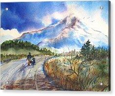 Lone Cone Dog Walk Acrylic Print