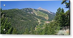 Lone Mountain Valley Acrylic Print