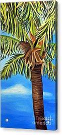 Lone Palm Acrylic Print by Shelia Kempf