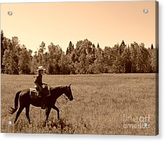 Acrylic Print featuring the photograph Lone Ranger by Sarah Mullin