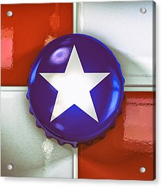 Lone Star Beer Acrylic Print by Scott Norris