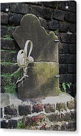 Lone Stone Acrylic Print by Patricia Greer