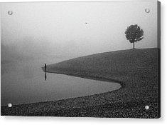 Loneliness Acrylic Print by Matija Posavec