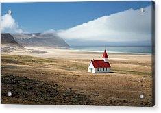 Lonely Church Acrylic Print