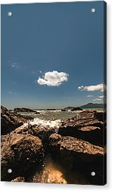 Lonely Cloud Acrylic Print