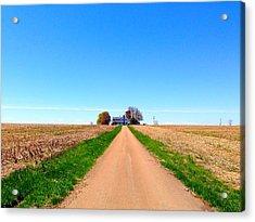 Lonely Farm Acrylic Print