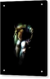 Lonely In The Dark Acrylic Print by Anton Egorov