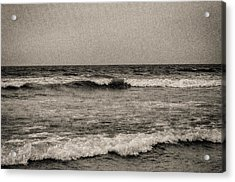 Lonely Ocean Acrylic Print by J Riley Johnson