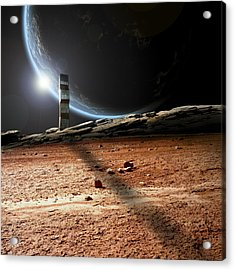 Lonely Outpost II Acrylic Print