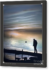 Lonely Shore Acrylic Print by Pedro L Gili
